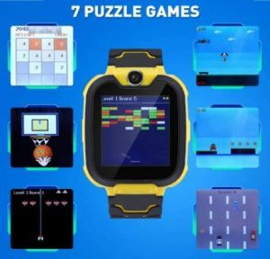 ralehong watch with games and phone for kids