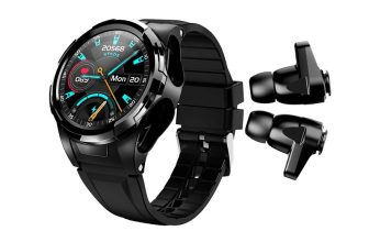 2 in 1 Smartwatch with earbuds