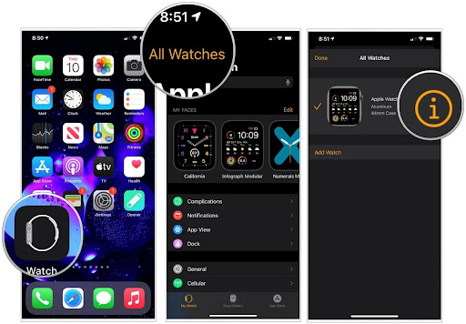 5 - resetting the apple watch