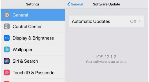 possibility number 2 - iphone's network setting