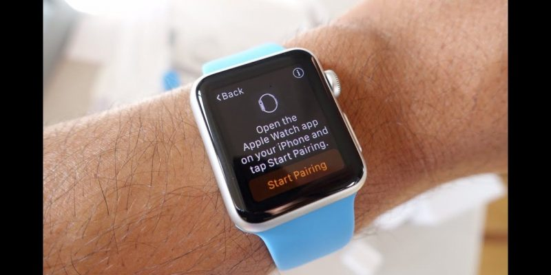 How to pair my apple watch to my new iPhone